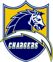San Diego Chargers Shield Logo