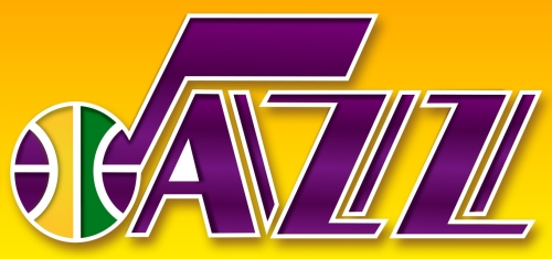 Utah Jazz 1980-1996 NBA Basketball Logo