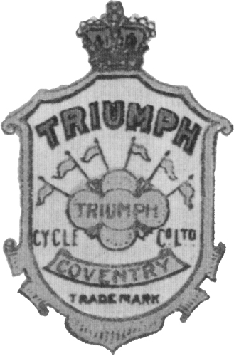 1902-1906 Triumph Shield