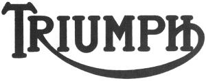 1934-1936 Triumph Logo
