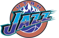 Utah Jazz BBA Basketball Logo